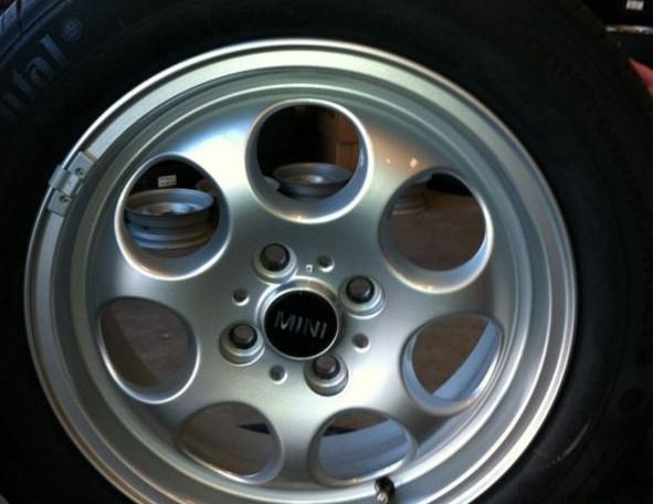 Mini 15 Inch Lm Velgen 175 65 15 Zomerbanden Owt Wheels